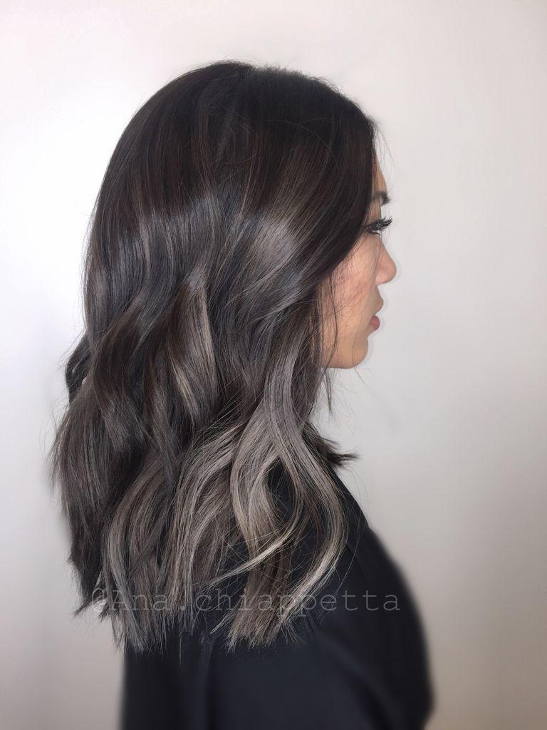 balayage on asian hair ash brown pinterest princesslucy24 hair color asian brown hair