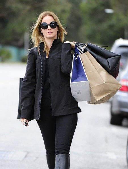 Mena Suvari in Beverly Hills, California on January 21, 2014.