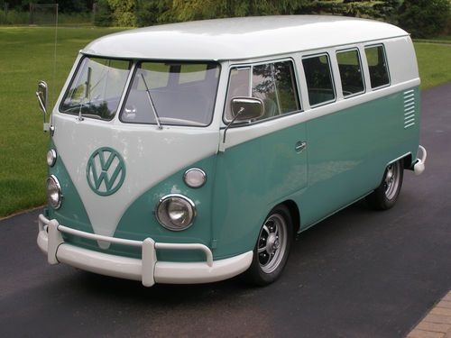1963 Vw Bus Standard Bus Stock Appaearance But Low And Cool On 2040