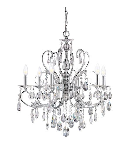 Kichler Lighting Marcalina 6 Light Mini Chandelier In Chrome
