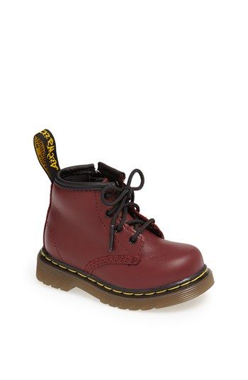 abf147b4 Dr. Martens 'Brooklee' Boot (Baby & Walker) available at #Nordstrom ...