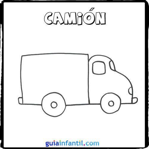 Camión | Aplique | Pinterest | Transporte, Camion dibujo y Camiones