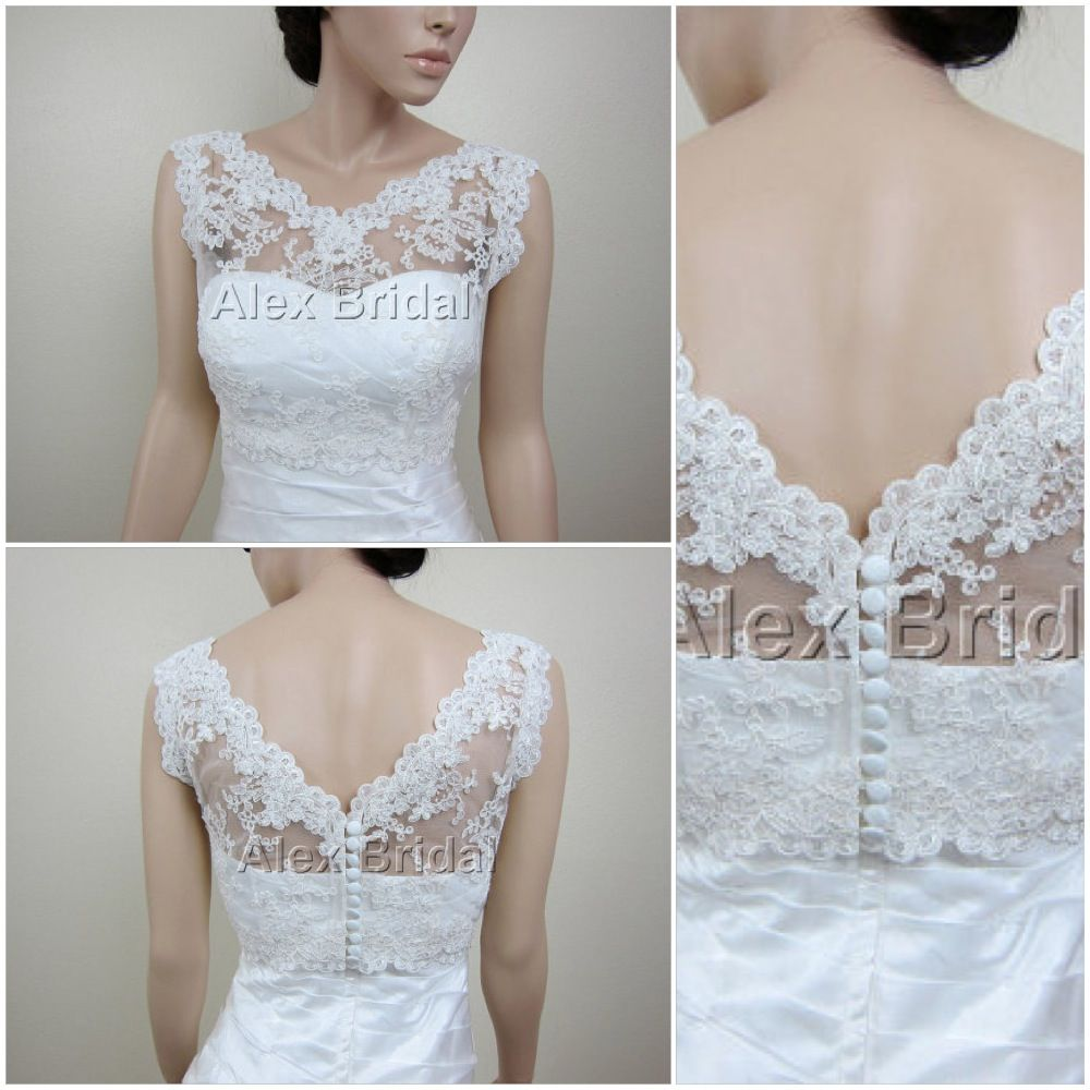 White lace bridal cover up from Alex Bridal on Etsy. | wedding stuff ...