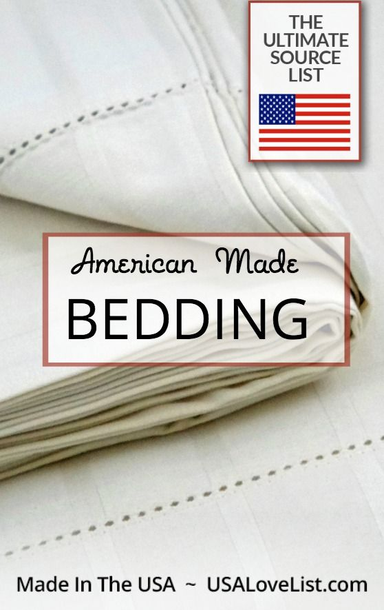 Bedding Made In Usa Ultimate Source List Of Pillows Blankets Sheets Comforter Duvetore All
