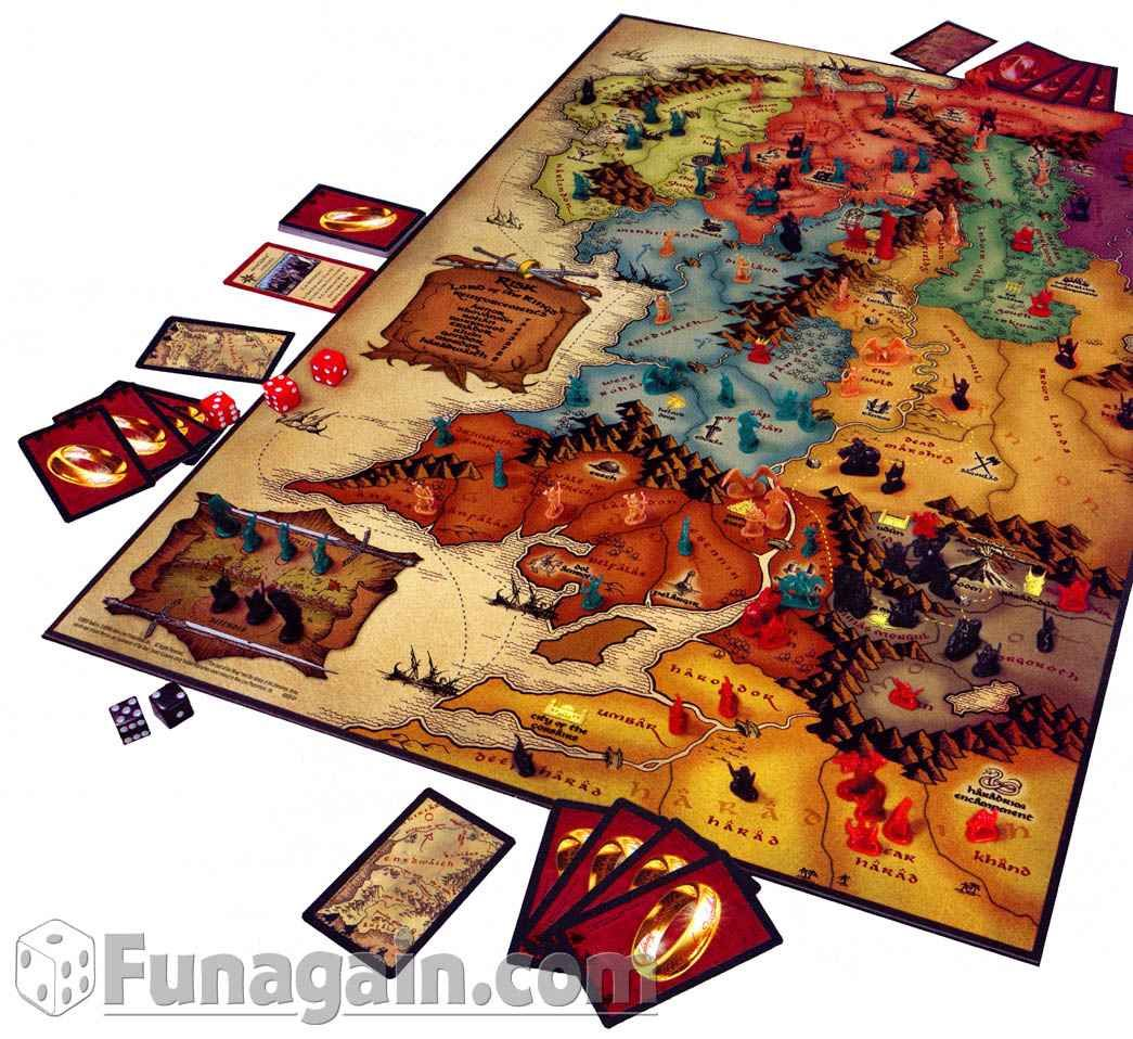 Lord of the Rings Risk A great twist to a classic