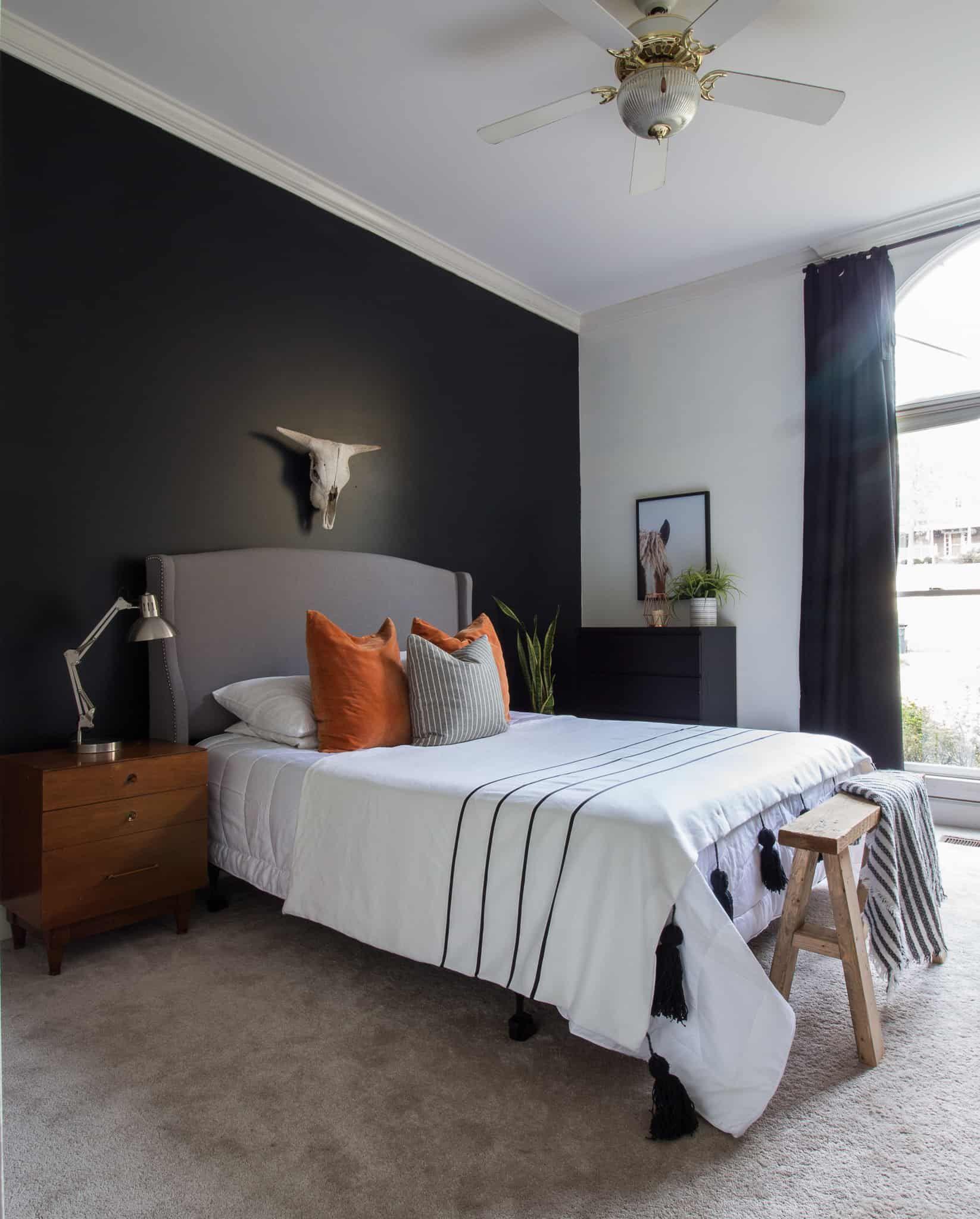 Bedroom Makeover for Under $6 in 6   Bedroom makeover, Home ...