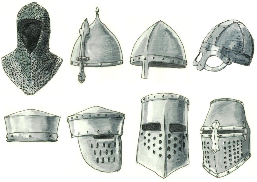 medieval helmets by Kluwe on DeviantArt | Art Ed - Royal ...