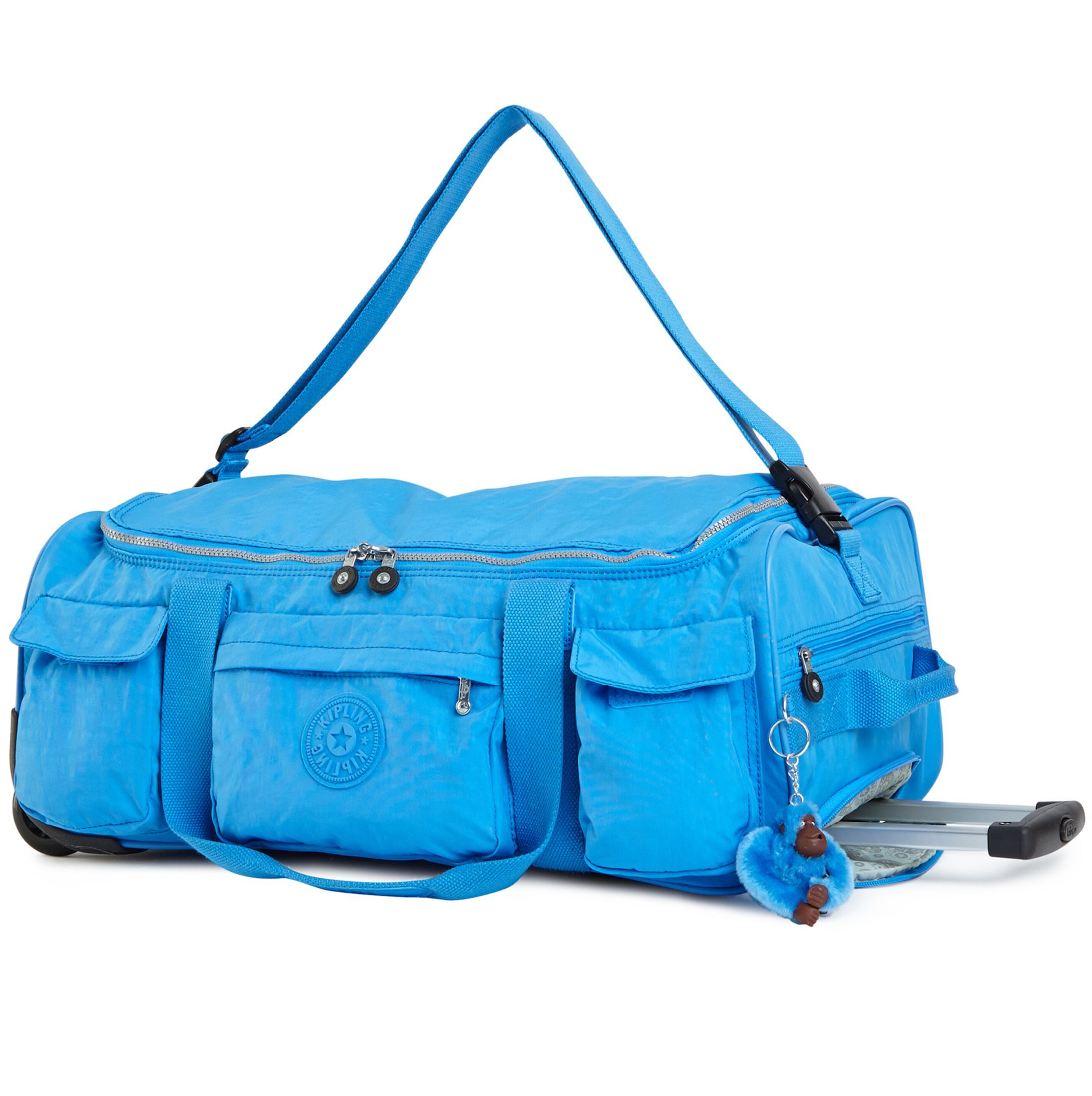 6c0bef336a DISCOVER SMALL WHEELED LUGGAGE DUFFLE - Blue Jay