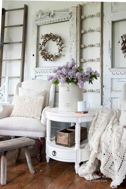 19 Romantic Shabby Chic Living Room Decor Ideas Domakeover Com Shabbychicb Shabby Chic Living Room Shabby Chic Decor Living Room Farmhouse Decor Living Room