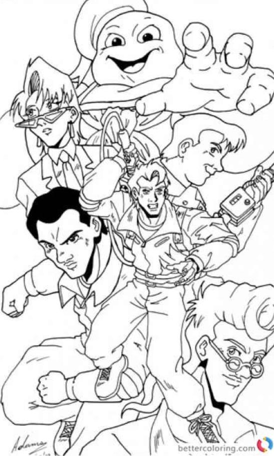 Ghostbusters Coloring Pages 08 8211 Ghostbusters Coloring Pages En 2020 Fiesta Cazafantasmas Cazafantasmas Carteles De Cine Minimalistas