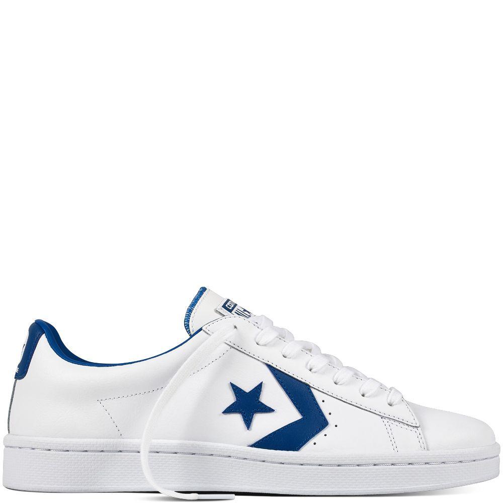 Pro Leather Blanc/Bleu geai/Blanc white/blue jay/white Style: