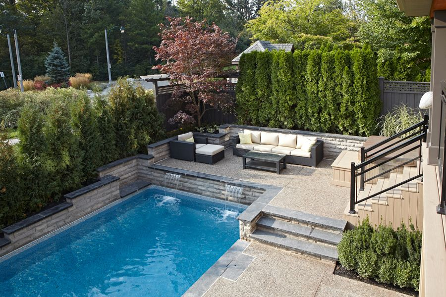 Inground Rectangle Pool 14 W X 29 L With Reef Liner