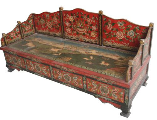Tibetan Wooden Sofa China Tibetan Wooden Sofa Antique Reproduction Sofa Tibetan Antique Reproduction Sofa Chinese Old Sofa Manufacturer Supplier