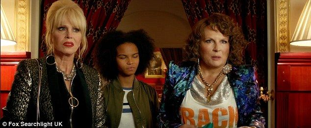 Star Studded Trailer For Absolutely Fabulous The Movie Is