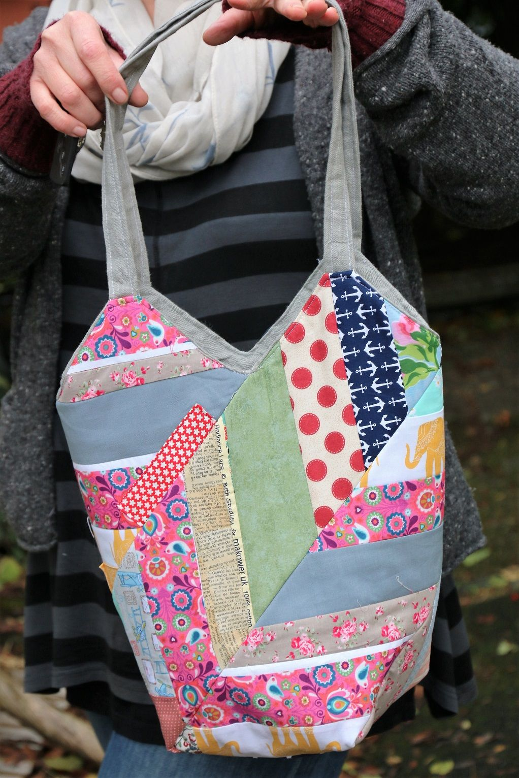 windm hlentasche n hen im chevron look tutorials free patterns bags handmade bags und sewing