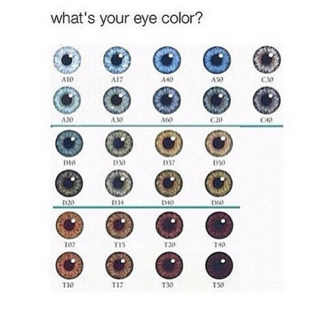 Awesome my eyes are the darkest one there random pinterest vashiane natural eye color chart im maybe geenschuldenfo Images