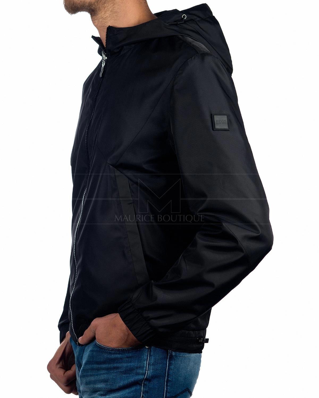 Hugo Boss Athleisure Hugo Boss Outerwear Jacket J Warwick Black Reversible Celebrity Style Men Hugo Boss Paul Smith Menswear [ 1500 x 1200 Pixel ]