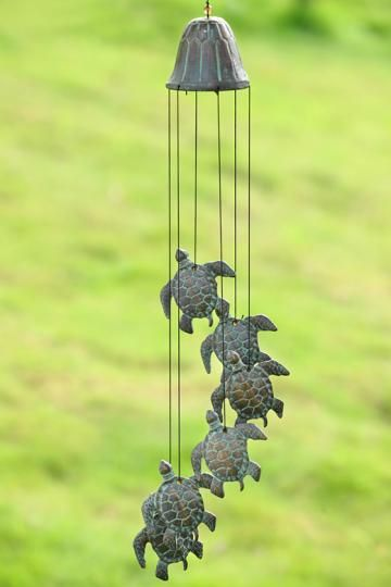 Your Decorating Resource For Furniture Rugs And Decor Wind Chimes Unique Wind Chime Turtle Decor