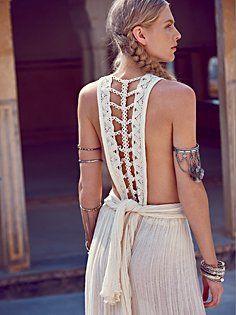 Trailing Jade Dress, lace, crochet, boho, details, triming