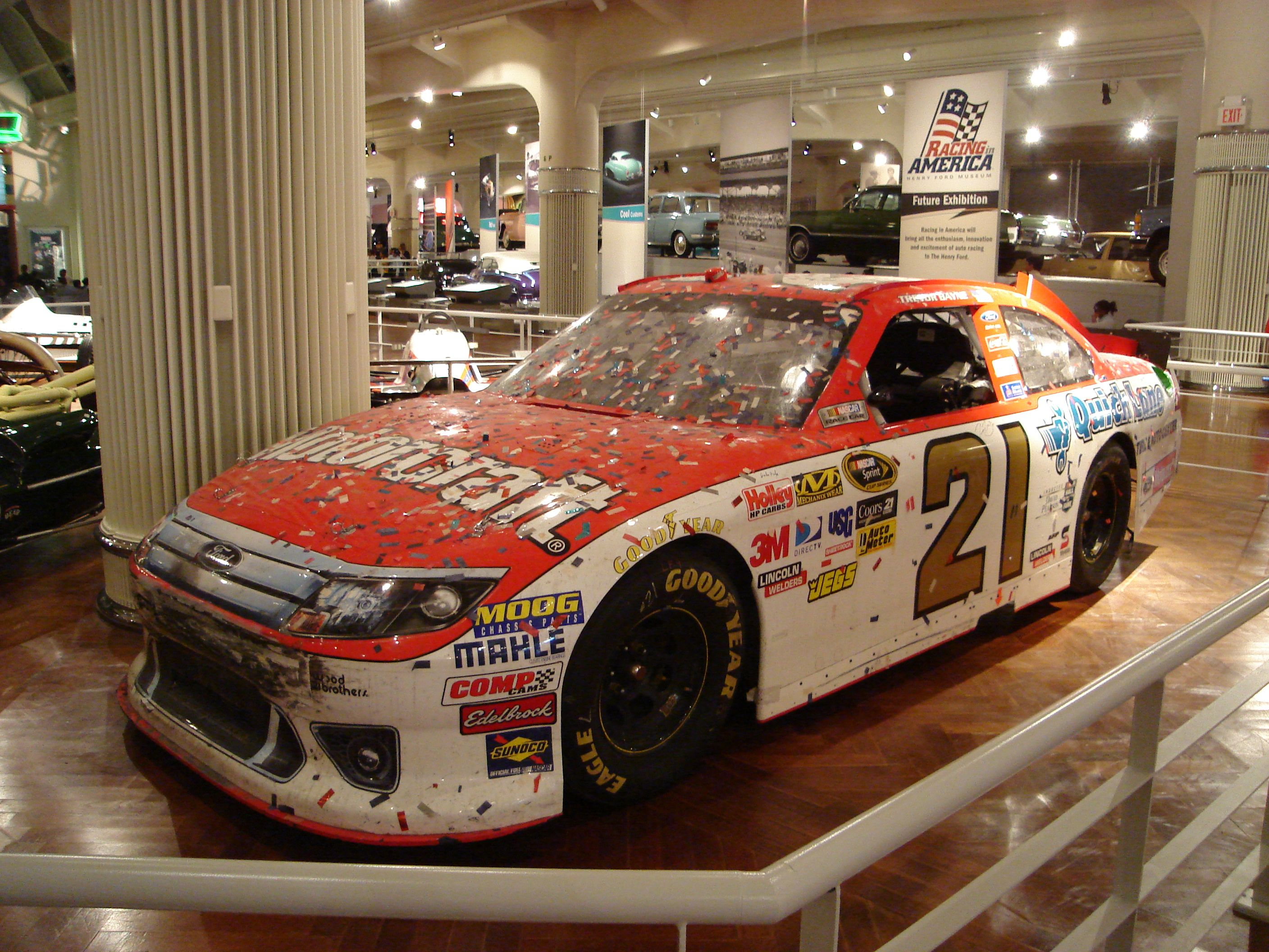 The 21 Car Trevor Bayne Won The 2011 Daytona 500 In At The Henry