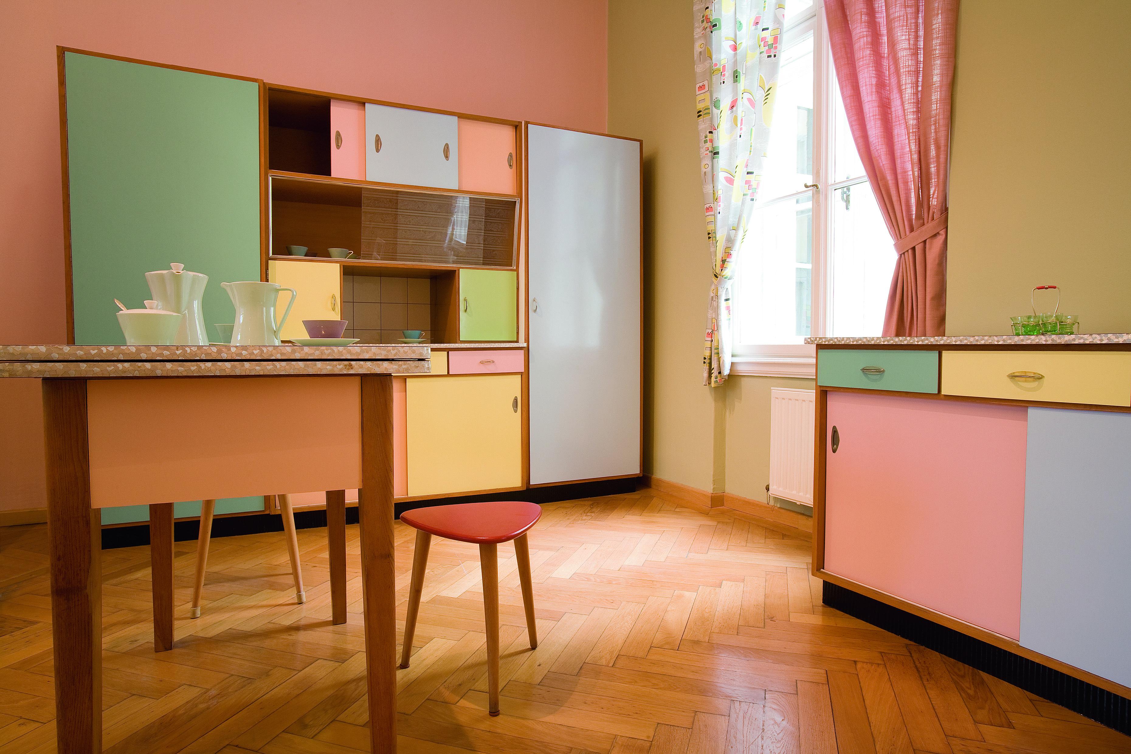 Küchen Design 50er Jahre | Vintage Kitchen Hook Border 3 Towel Hooks ...