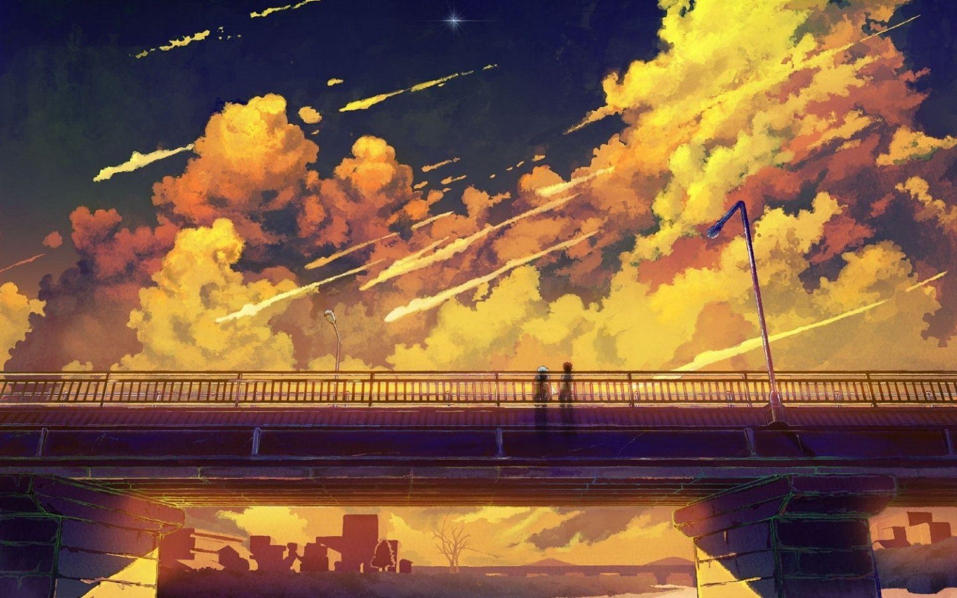 Lovely Anime Scenery Wallpaper 6801157 Pemandangan Anime Pemandangan Ilustrasi