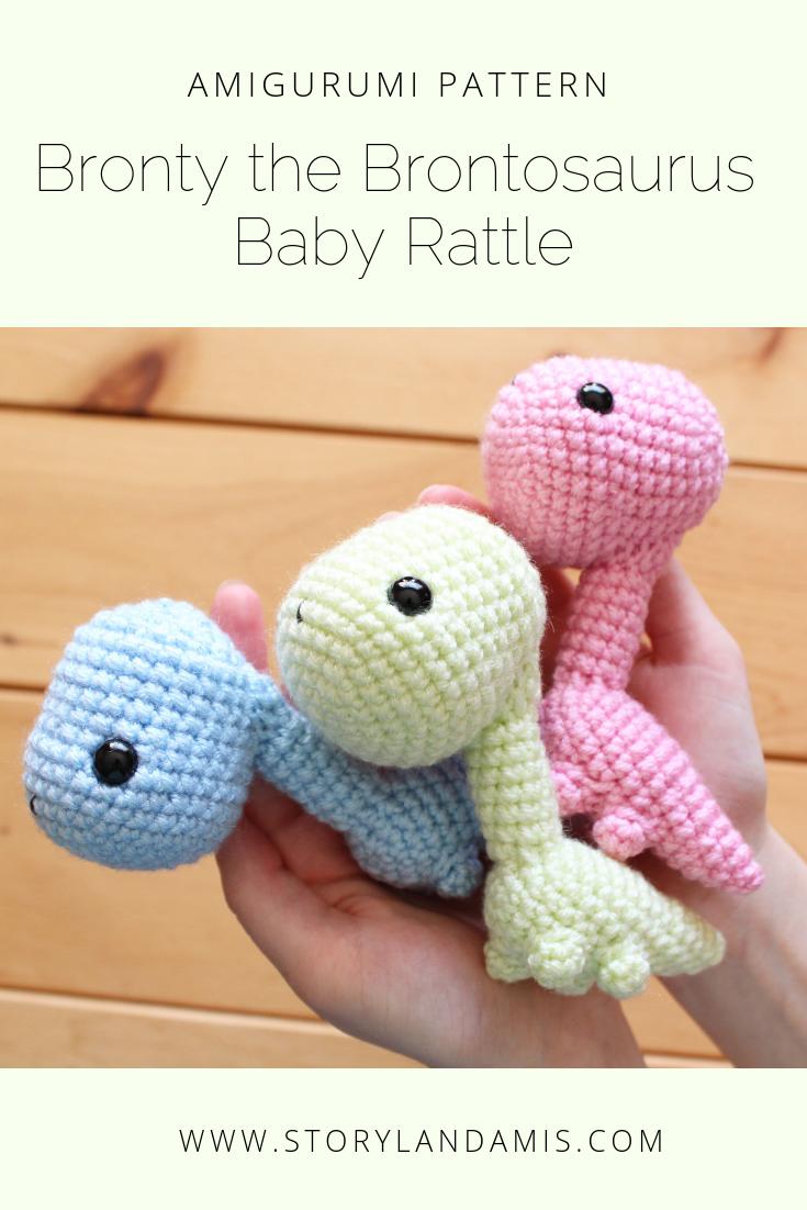 Baby Dinosaur Crochet Pattern | Crochet patterns, Dinosaur pattern ... | 1102x735