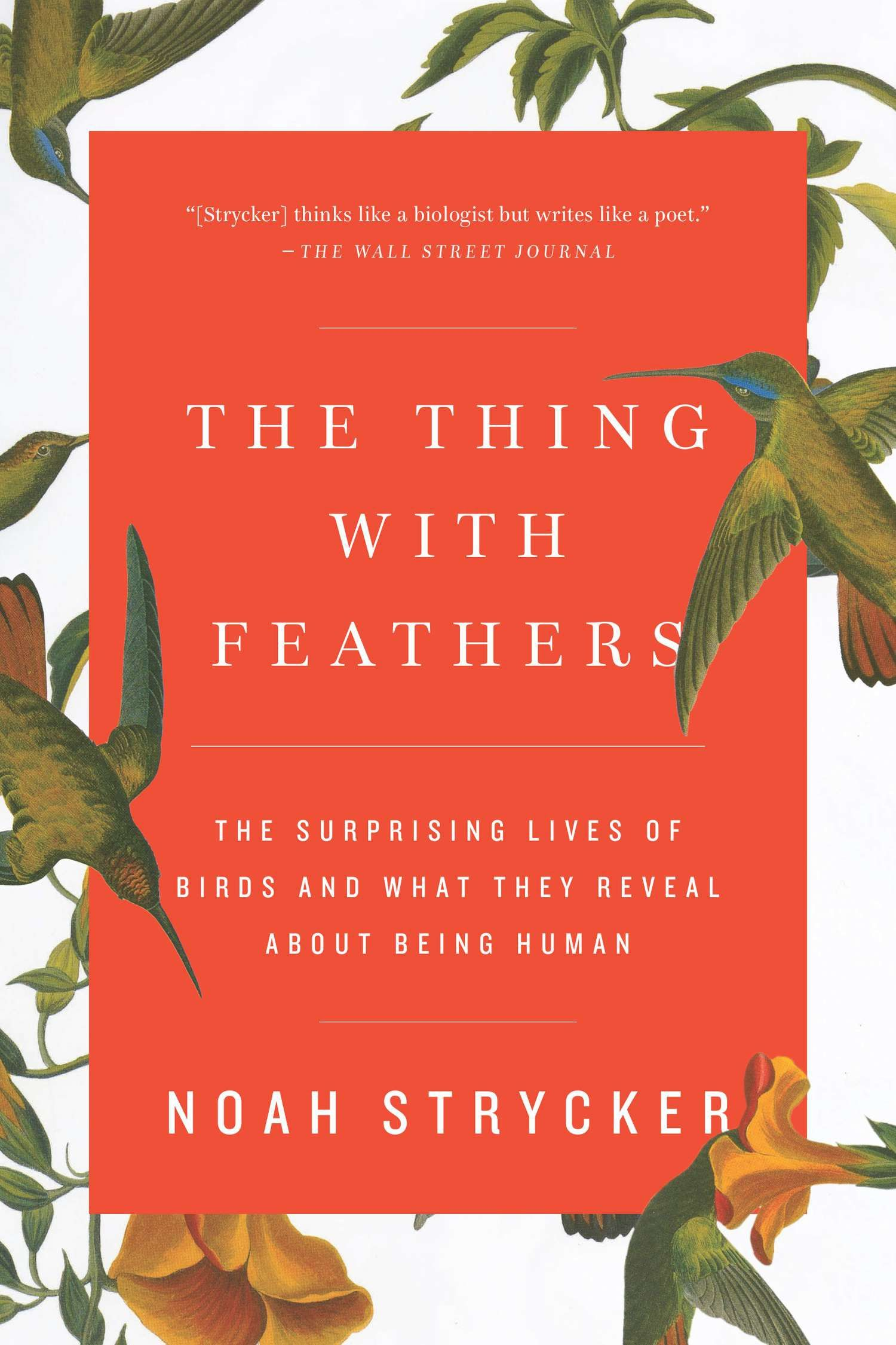 The Thing with Feathers by Noah Strycker 9781594633416