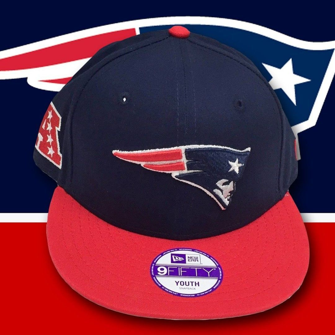 0e1c01fa0 KIDS New England Patriots AFC Champions Youth Snapback Hat | New ...