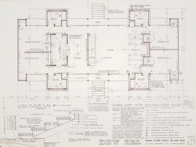 Construction Document Main floor plan (With images