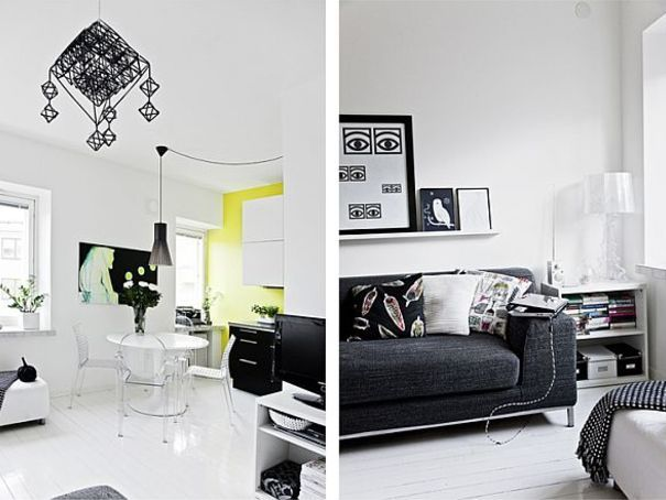 12 Examples of perfect usage of Black features in Apartment Interiors | Ideas | PaperToStone