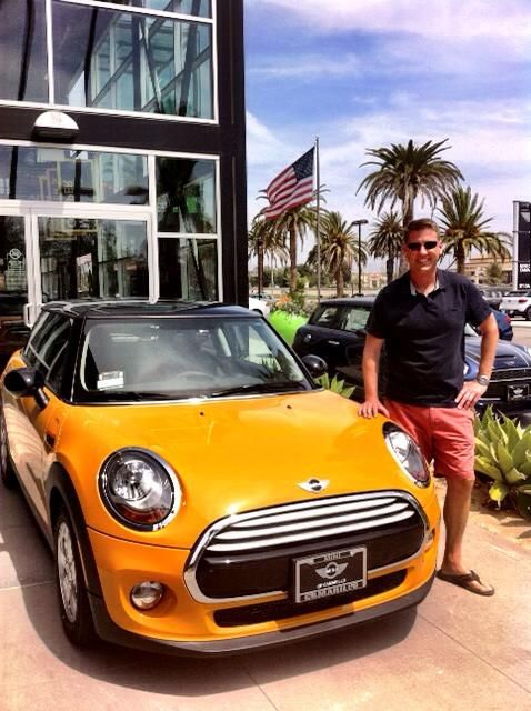 Mini Cooper San Diego >> Russ Is Headed Back To San Diego In His New 2014 Mini Cooper
