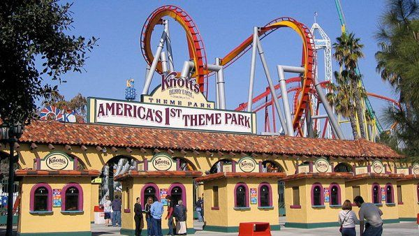 Free Admission For Active Duty And Veterans To Knott S Berry Farm