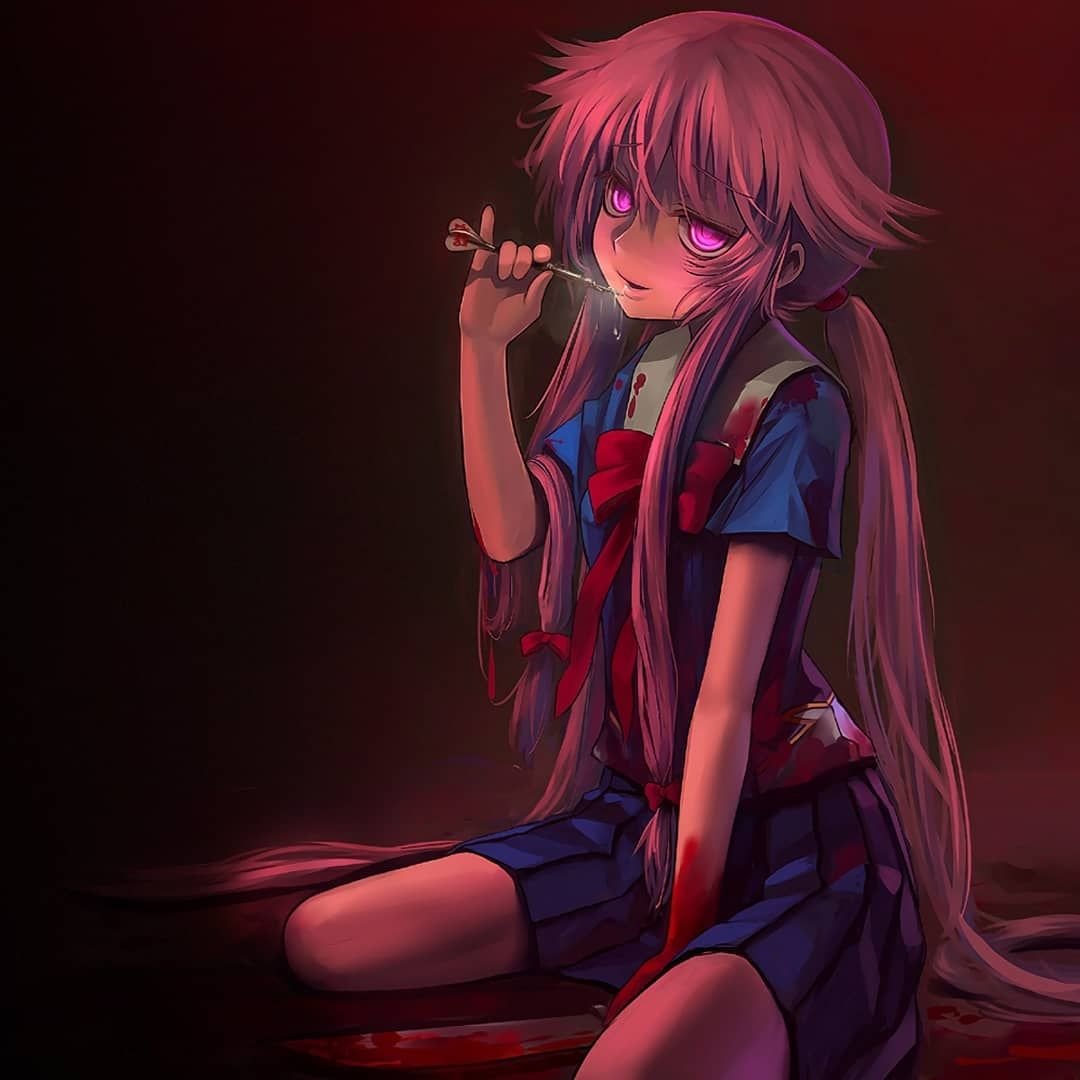 New Mirai Nikki Collection Yuno Gasai Anime Yandere Anime Mirai Nikki