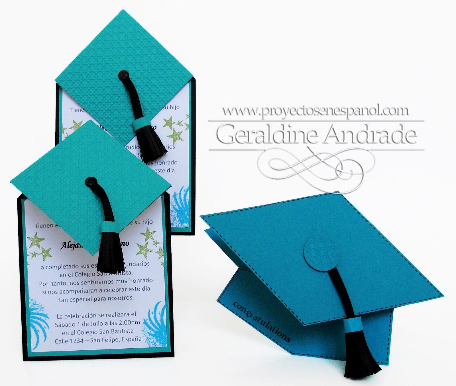Mafer 39 s creations tarjetas de graduacion graduation for Decoracion grado universidad