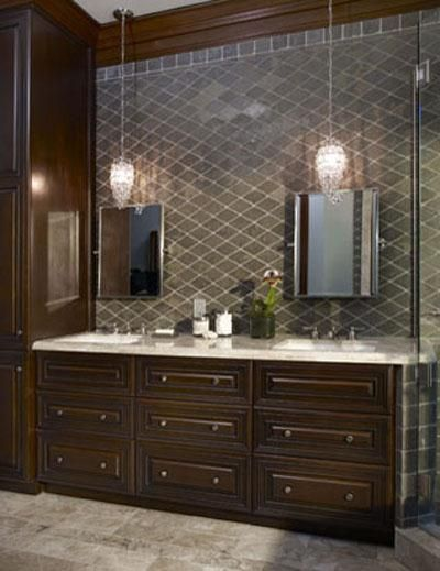 Elegant Traditional Bathroom by Sarah Barnard