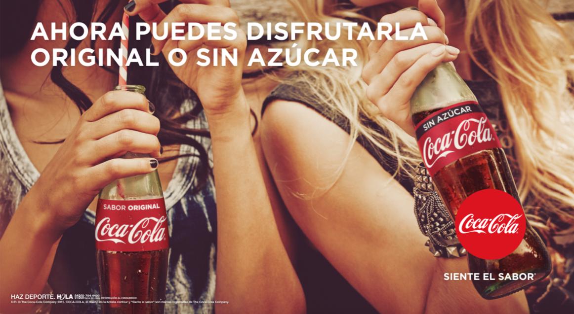 Publicidad Coca Cola Siente El Sabor Pin En Coca Cola