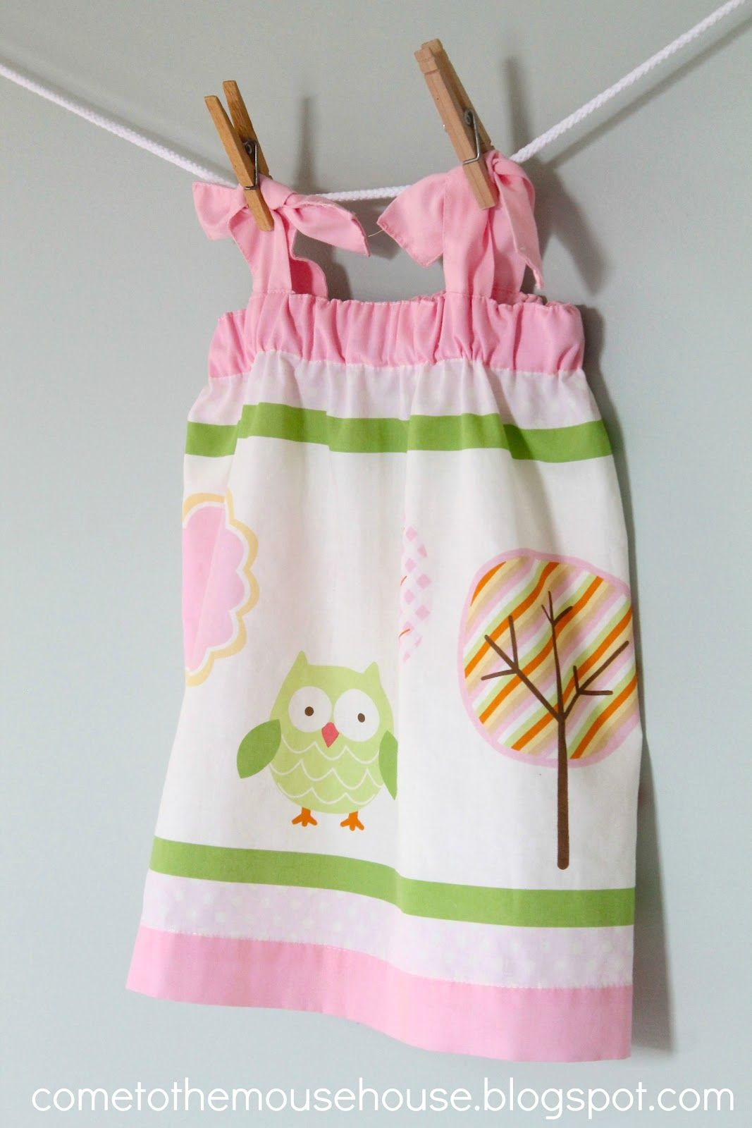 Welcome to the Mouse House: The Window Valance Dress