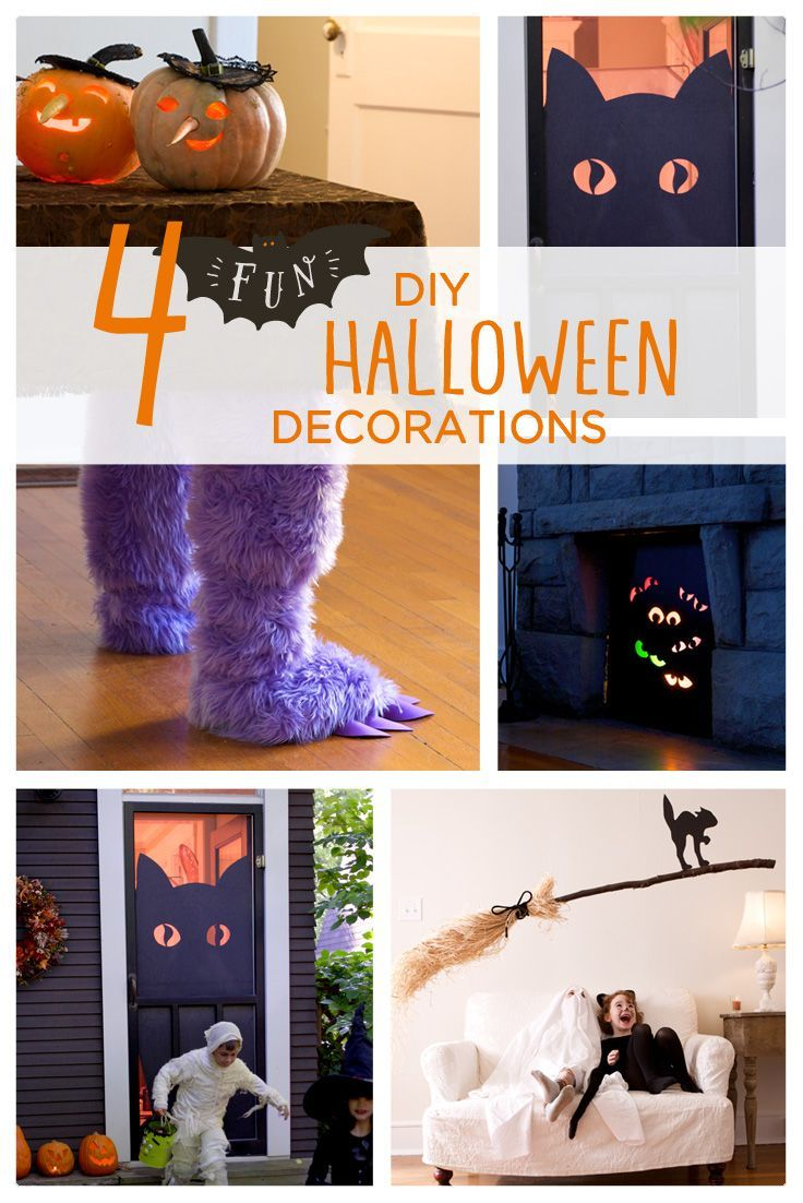 Trick out your house with these DIY Halloween decorations - Homemade Halloween Decorations