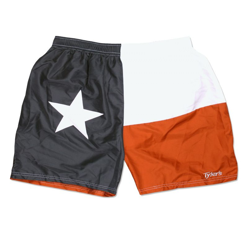 Men S Tyler S Burnt Orange Texas Flag Running Shorts Orange Texas Running Shorts Texas Flags
