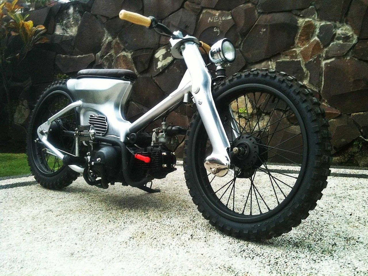 Honda C90 Bobber Marco Rgido Motorcycles ATVs Pinterest