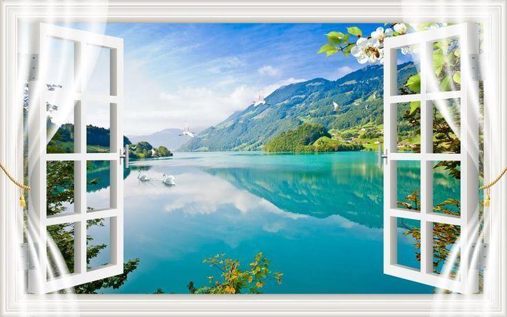 Anpassen Balkonblick Fenster Vorhänge für Kinderzimmer Wohnzimmer Schlafzimmer #balconycurtains