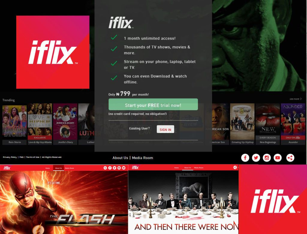 Iflix Unlimited Movies Film Streaming Ios Android Windows Techfiver Movies Movies To Watch Video On Demand