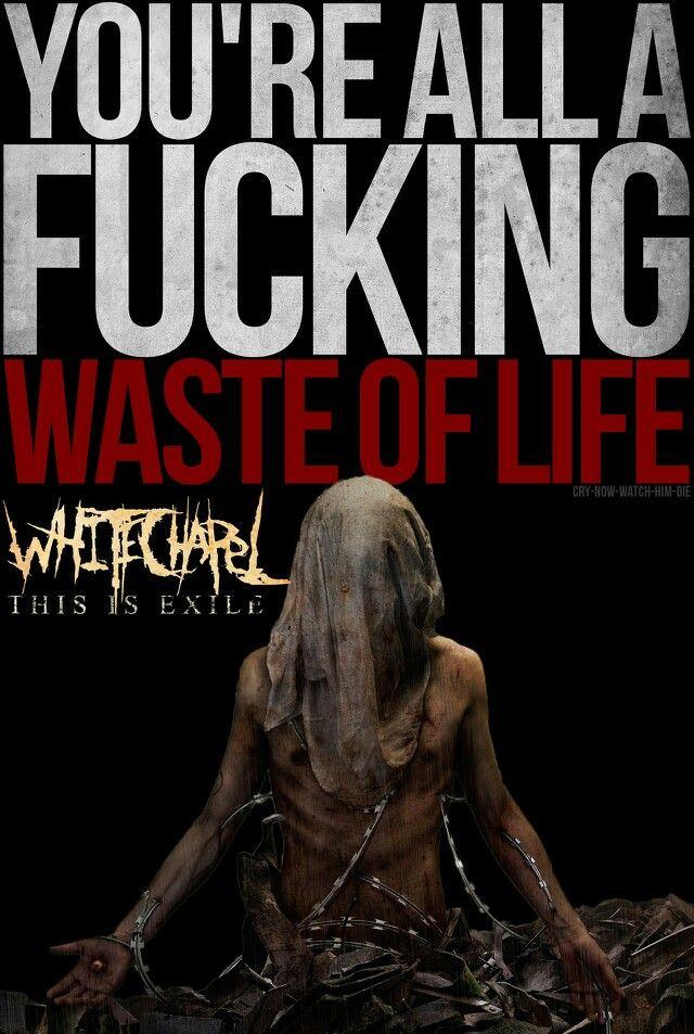 Whitechapel - Eternal Refuge | Metalcore lyrics, Warrior ...