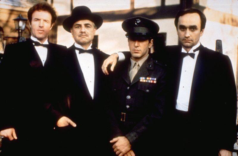 The Godfather Cast 1972 Oldschoolcool The Godfather Godfather Movie Godfather Characters