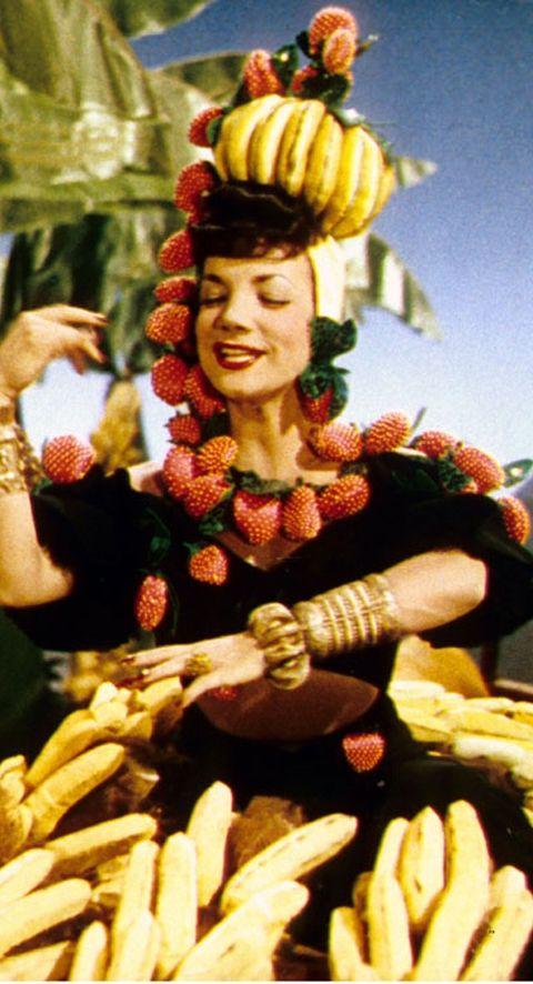 Burlesque #2 Retro Fruits hair Clip Carmen Miranda Style Rockabilly