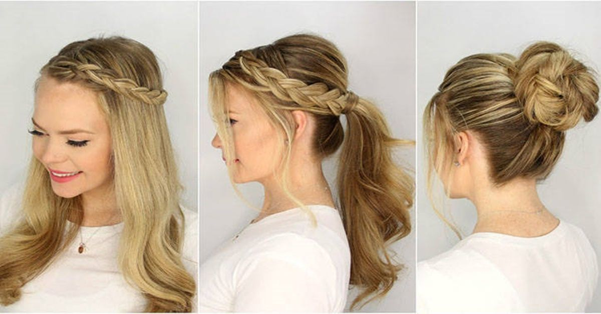 3 Hair Model for Summer   Summer hairstyles for medium hair, Summer hairstyles, Easy summer ...