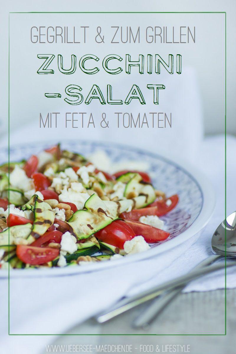 Salat zum grillen feta