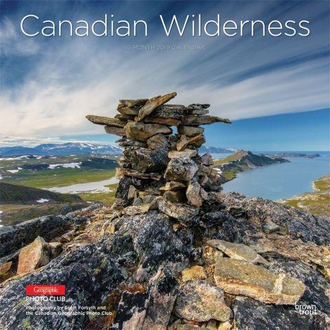 Canadian Wilderness 2019 Wall Calendar This calendar endeavors to