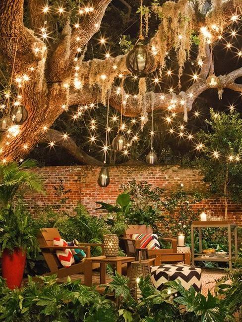 25 Beautiful Diy Outdoor Lights And Creative Lighting Design Ideas Dream Backyard Backyard Outdoor Patio Lights